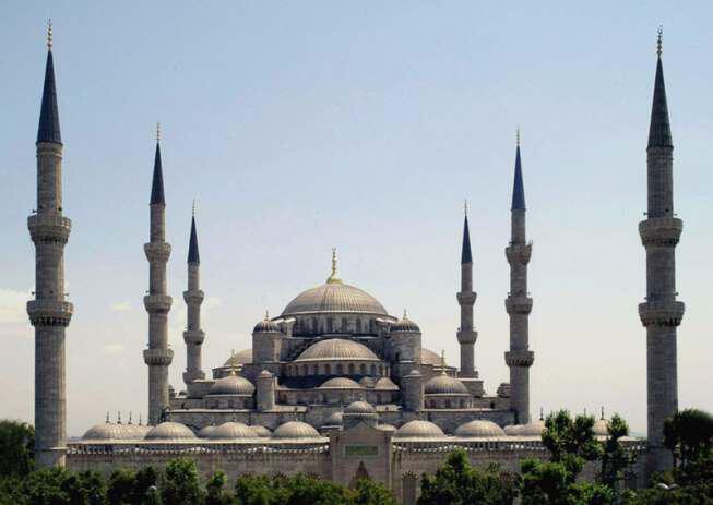 Mosque Istanbul Turkey - Основные достопримечательности Стамбула
