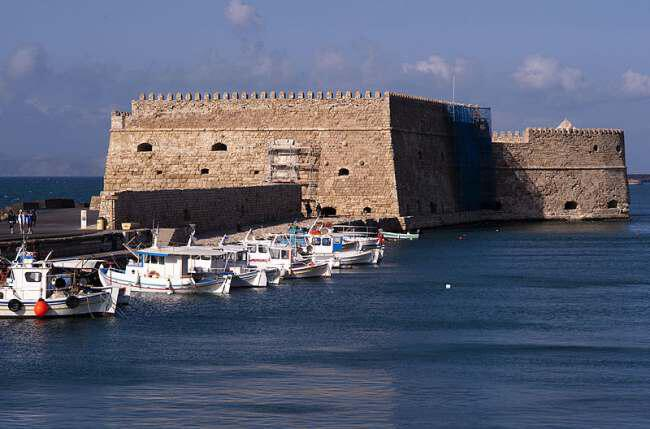 heraklion - Греция-Крит-Гераклион Венецианские стены