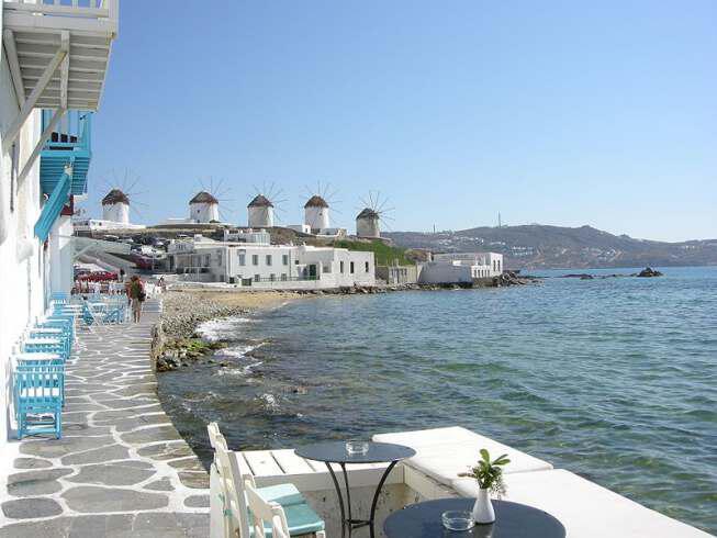 mykonos2 - Порт Миконос Путешестиве по старому городу