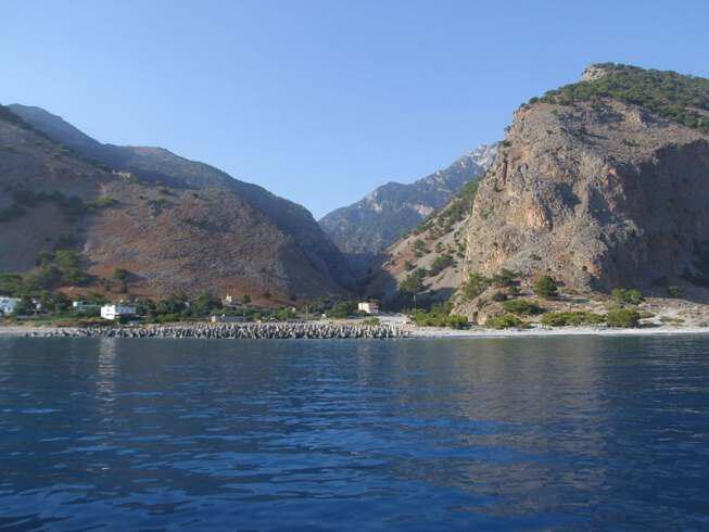 samaria - Греция-Крит-Ущелье Самария