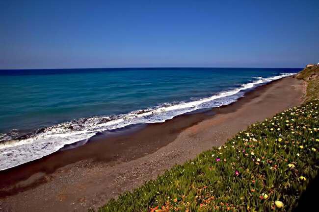santorini beach - Греция Лучшие пляжи Санторини