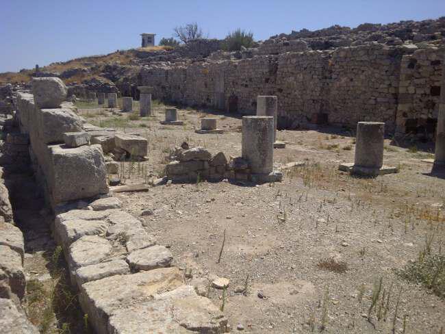 Ancient Thira - Греция Древняя Тира
