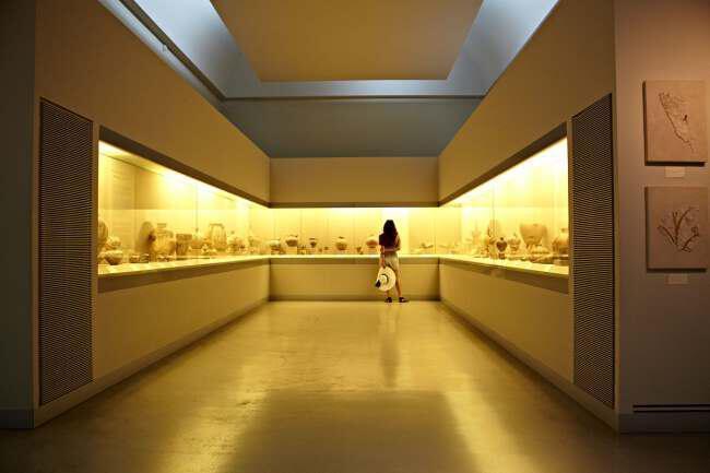 santorini museum - Греция Санторини Древний Акротири
