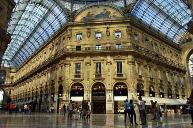 Милане 41 - Shopping in Milan