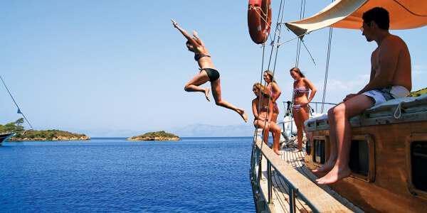 Молодежный отдых в Турции 1 - Youth Recreation in Turkey