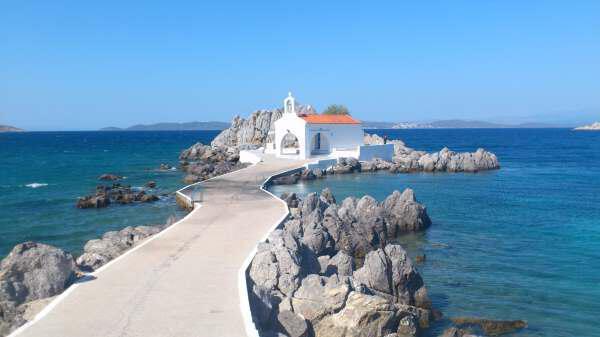 Отдых на замечательном греческом острове Хиос 1 - Relax on the wonderful Greek island of Chios