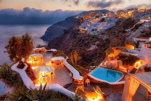 Санторини — самый романтичный греческий остров - Santorini - the most romantic Greek island