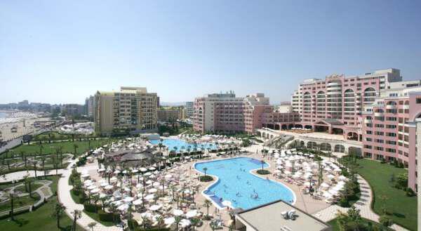 Самые популярные отели Солнечного Берега - Most popular hotels in Sunny Beach Bulgaria